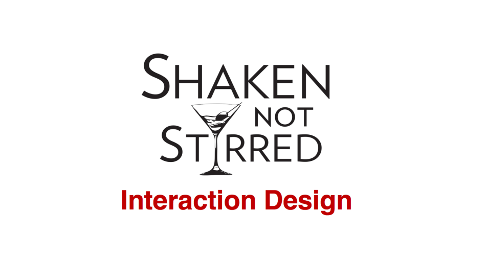 Date of birth and Interaction Design: Shaken, not stirred – Voula